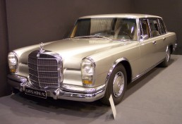Mercedes-Benz 600 vl silver TCE