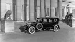 Mercedes 15/70/100 PS, Typ 400 (1924 bis 1929) in der Ausführung als Pullman-Limousine.