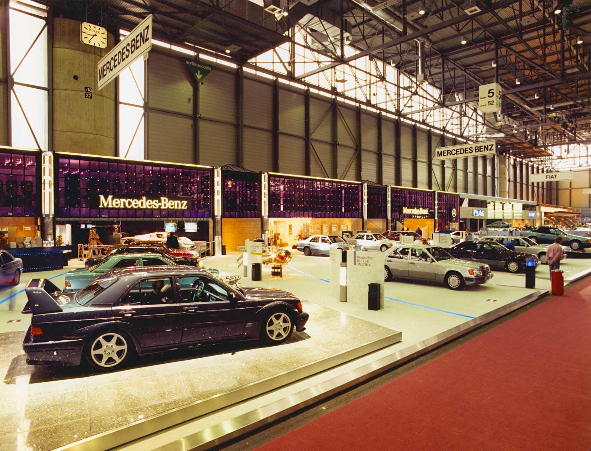 Mercedes-Benz 190 E 2.5-16 Evolution II. Premiere auf dem Genfer Automobil-Salon vom 8. bis 18. März 1990.