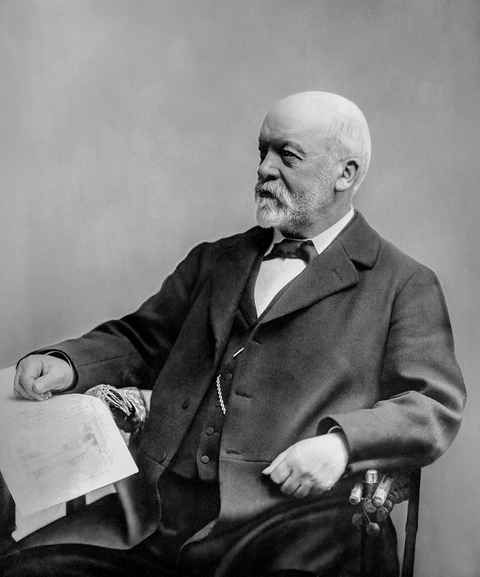 Gottlieb Daimler (17. März 1834 bis 6. März 1900).