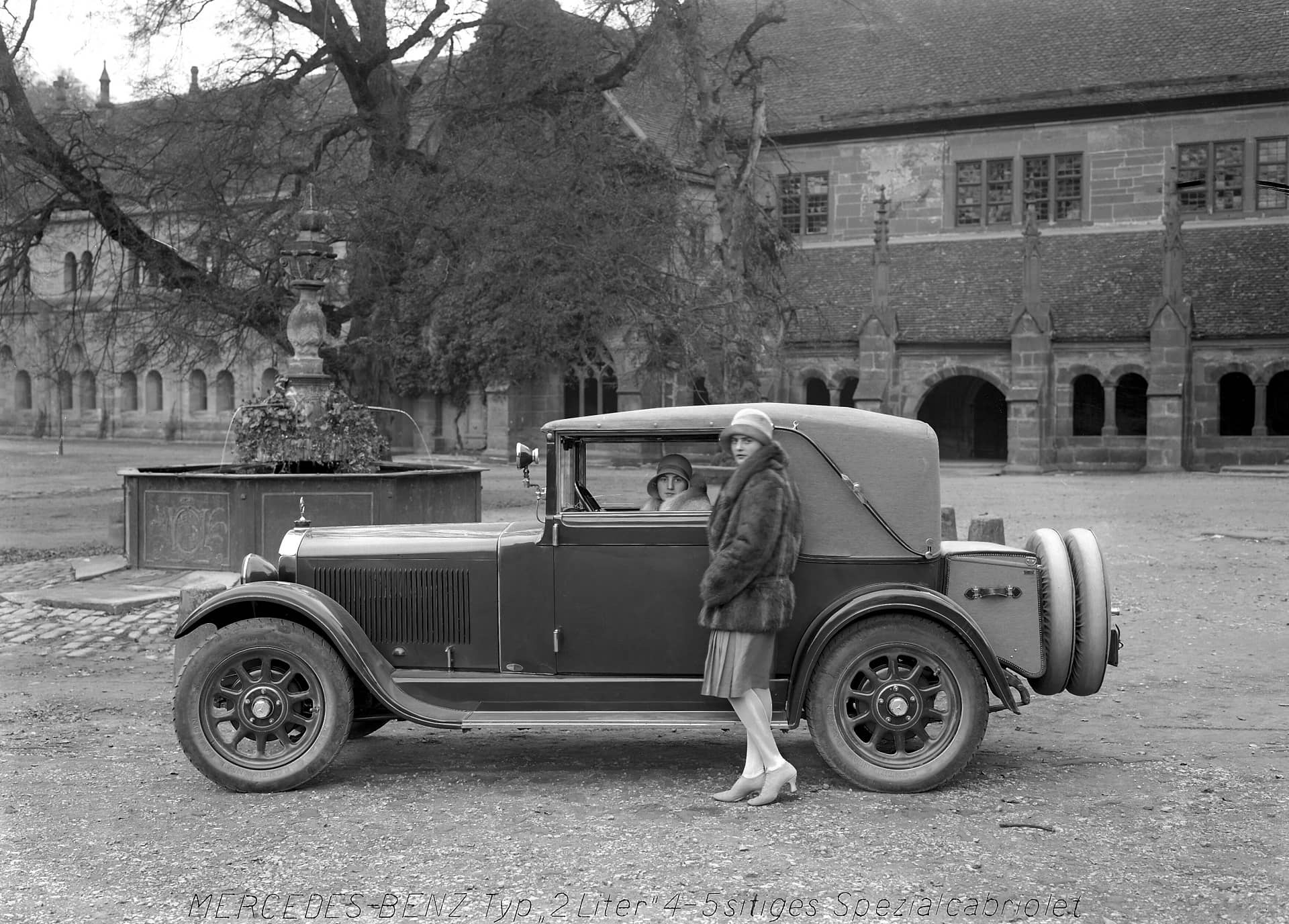 Bilder Mercedes-Benz 8/38 PS Typ Stuttgart 200 (W 02), Cabriolet C (1926 bis 1928).