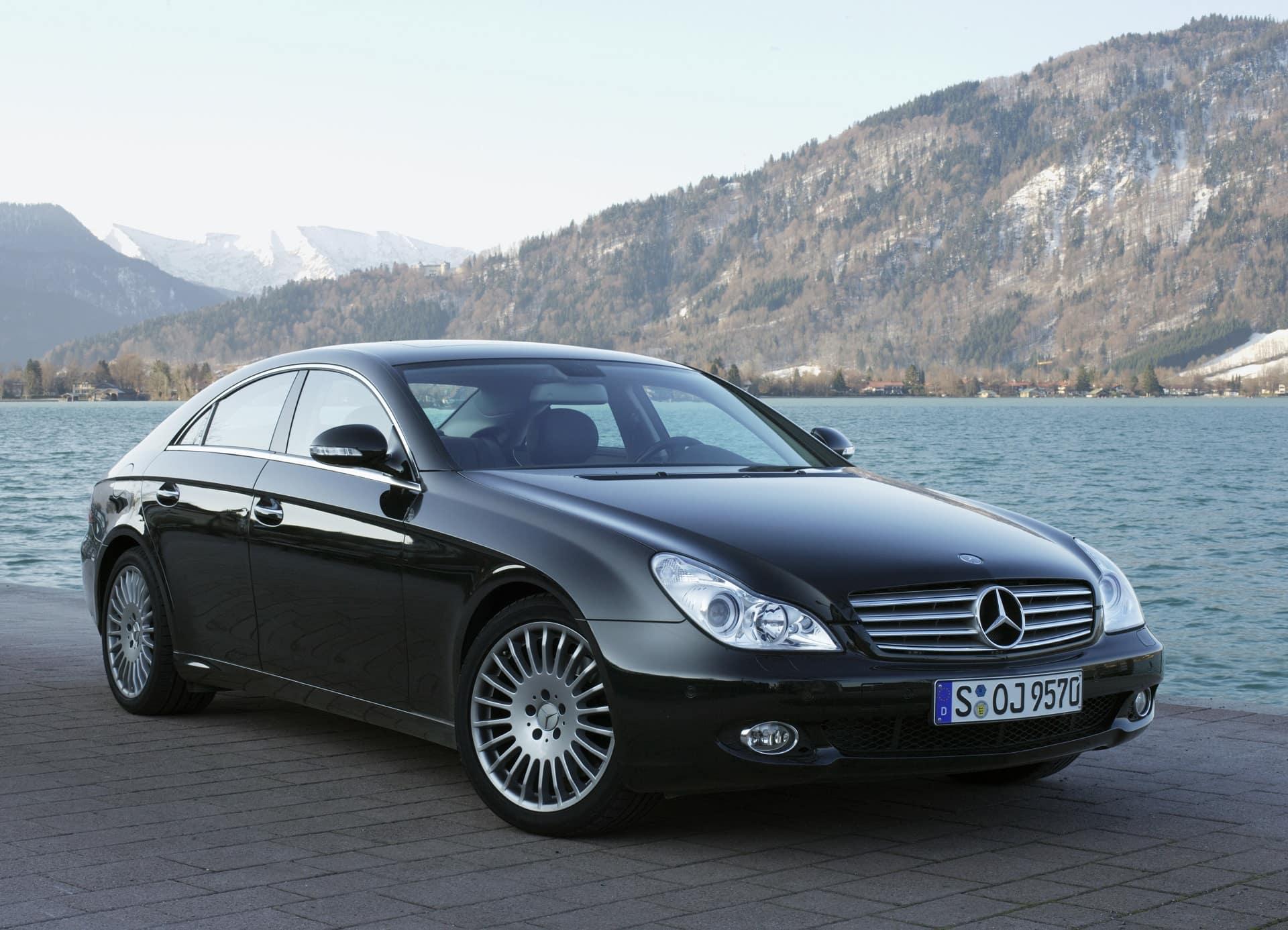 Mercedes-Benz CLS 350 CGI, Exterieur