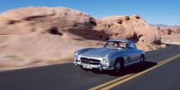 "Mercedes-Benz 300 SL ""Gullwing"" (W 198, 1954 bis 1957)."
