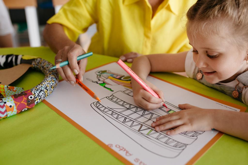 Das aktuelle Kinderprogramm im CAMPUS des Mercedes-Benz Museums startet am 29. Mai 2020. Für Kinder ab 3 Jahren gibt es verschiedene Kreativangebote zu Themen der Ausstellung.
