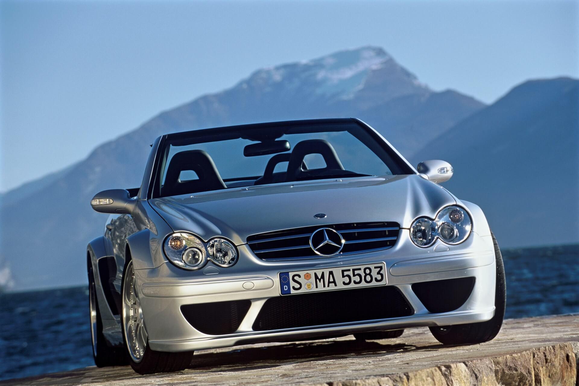 Mercedes-Benz CLK DTM AMG Cabriolet (C 209). Foto aus dem Jahr 2006.