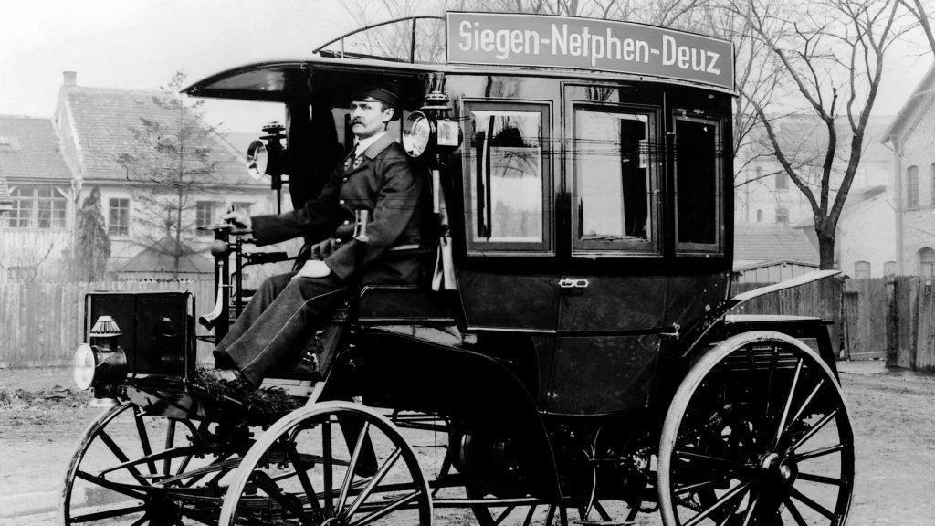 1895: Der Landauer - der erste Omnibus der Welt.