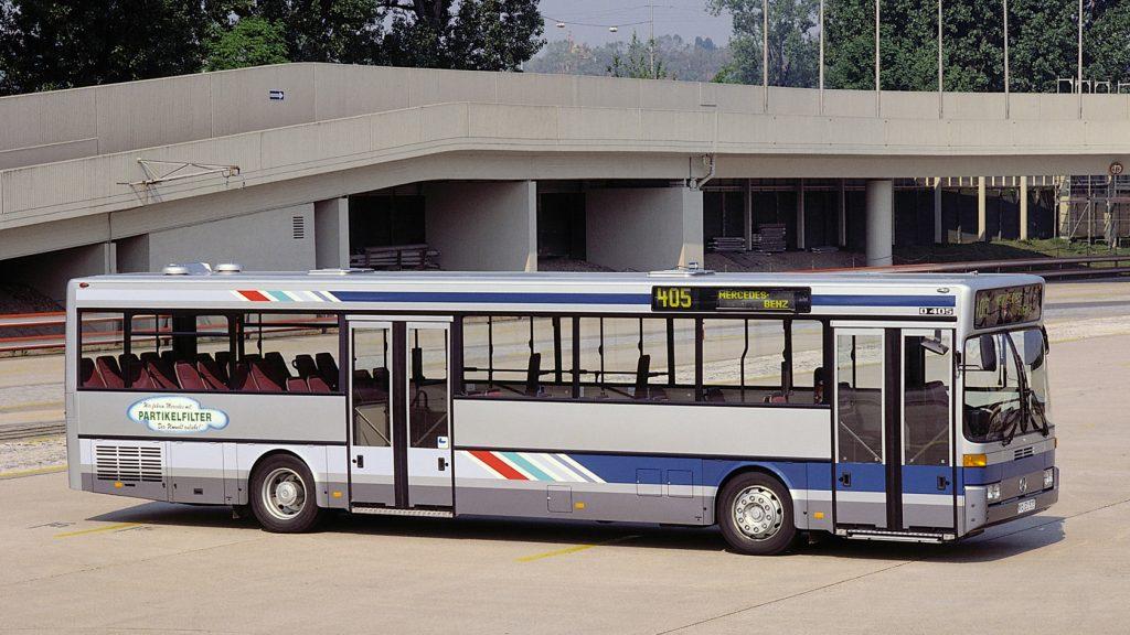 1989: Der Niederflur-Stadtlinienbus O 405 N.