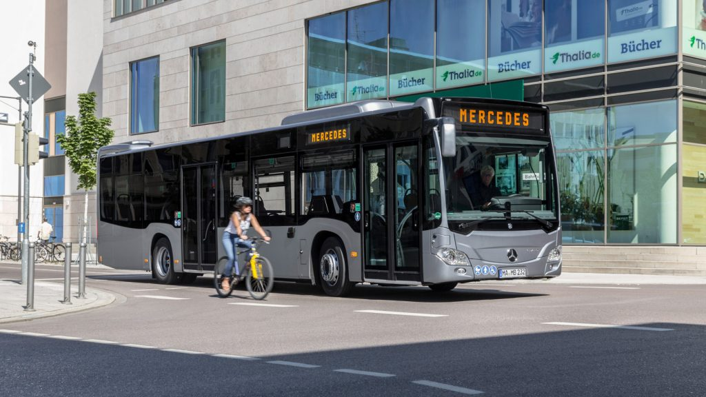 Mercedes-Benz Linienbusse Citaro hybrid.