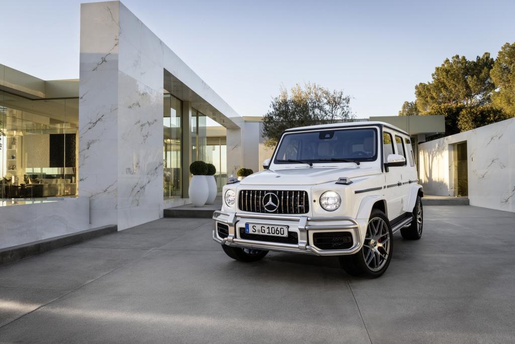 Mercedes-Benz Project Geländewagen. Original Mercedes-AMG G63 (Kraftstoffverbrauch kombiniert: 13,1 l/100 km; CO2-Emissionen kombiniert: 299 g/km)* (Quelle Daimler AG)