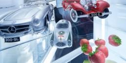 Hitzefrei: An sieben Sonntagen im Zeitraum vom 2. August bis 13. September 2020 gibt es bei hochsommerlichen Temperaturen die Chance auf freien Ei ntritt ins Mercedes-Benz Museum. (Quelle: Daimler AG)