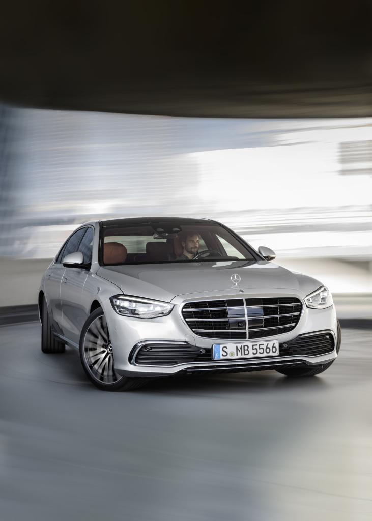 Mercedes-Benz S-Klasse, 2020, Outdoor, Fahraufnahme, Exterieur: Hightechsilber