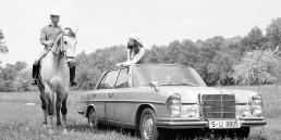 Mercedes-Benz 300 SEL 6.3 (W 109, 1968 bis 1972). Insgesamt 6.526 Exemplare werden gebaut.
