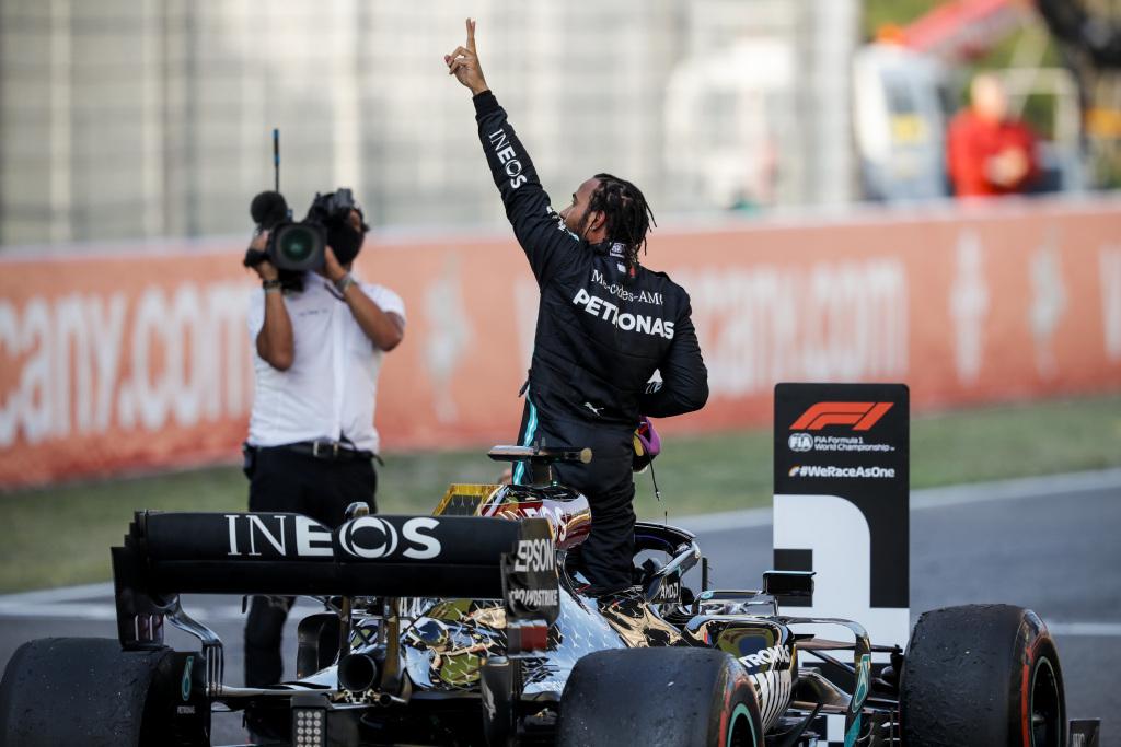 Formel 1 - Mercedes-AMG Petronas Motorsport, Großer Preis der Toskana 2020. Lewis Hamilton