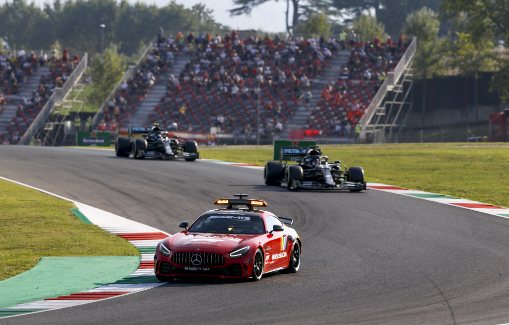 Formel 1 - Mercedes-AMG Petronas Motorsport, Großer Preis der Toskana 2020. Lewis Hamilton Valtteri Bottas