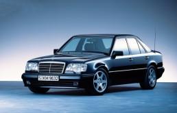 Mercedes-Benz E 500 Limited (W 124), Exterieur. Foto aus dem Jahr 1994.