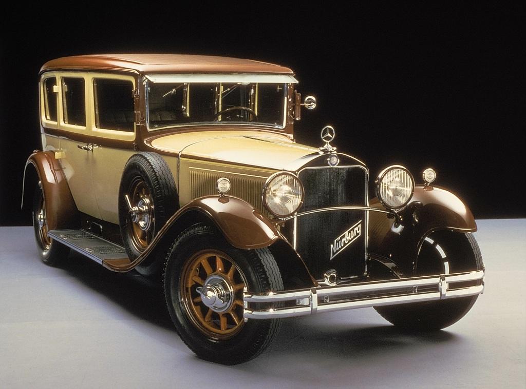 Klassischer Auftritt: Mercedes-Benz 18/80 PS Typ Nürburg 460 Pullman-Limousine (Baureihe W 08), aus dem Jahr 1928.