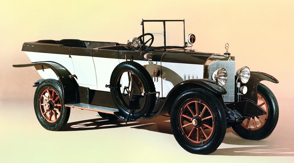 Laufruhe und Kultiviertheit dank dem Schiebermotor nach dem Prinzip von Charles J. Knight: Mercedes-Knight aus dem Jahr 1921.