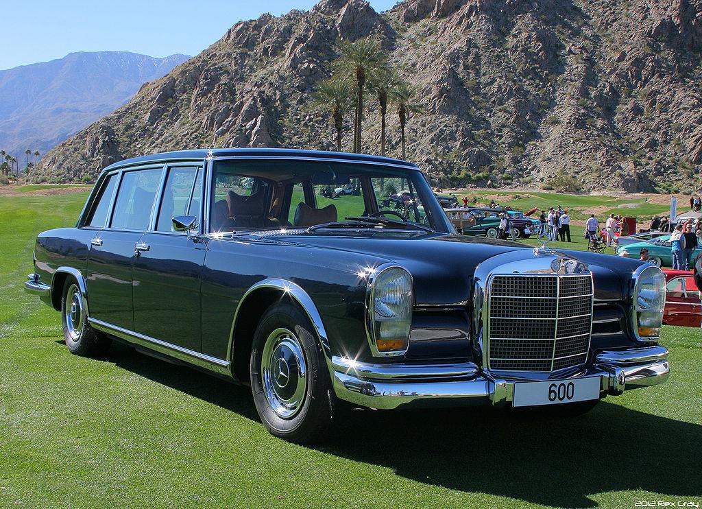 Der Mercedes-Benz 600 gehörte zu den Top-Fahrezugen der Marke zwischen 1964 und 1981 (Credit: Rex Gray from Southern California, CC BY 2.0 <https://creativecommons.org/licenses/by/2.0>, via Wikimedia Commons)