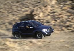Mercedes-Benz AAVision, präsentiert im Januar 1996 auf der North American International Auto Show (NAIAS) in Detroit. Seriennahe Studie der M-Klasse, die ab Mai 1997 im neuen Werk Tuscaloosa, Alabama (USA) produziert wird. (Fotosignatur der Mercedes-Benz Classic Archive: D95F3407)