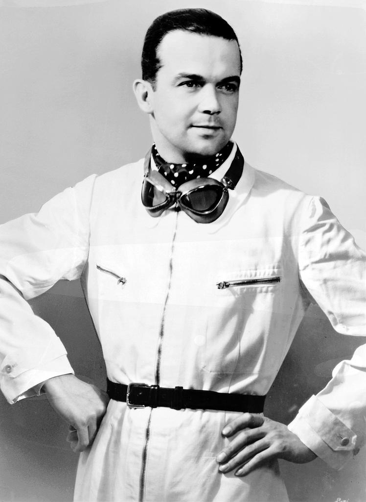 Rudolf Caracciola (1901 bis 1959). (Fotosignatur der Mercedes-Benz Classic Archive: C31400)