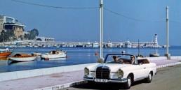 Mercedes-Benz 220 SE Cabriolet (Baureihe W 111). Mit verschiedenen Motorisierungen wird das Cabriolet der Baureihen W 111/W 112 von 1961 bis 1971 gebaut.