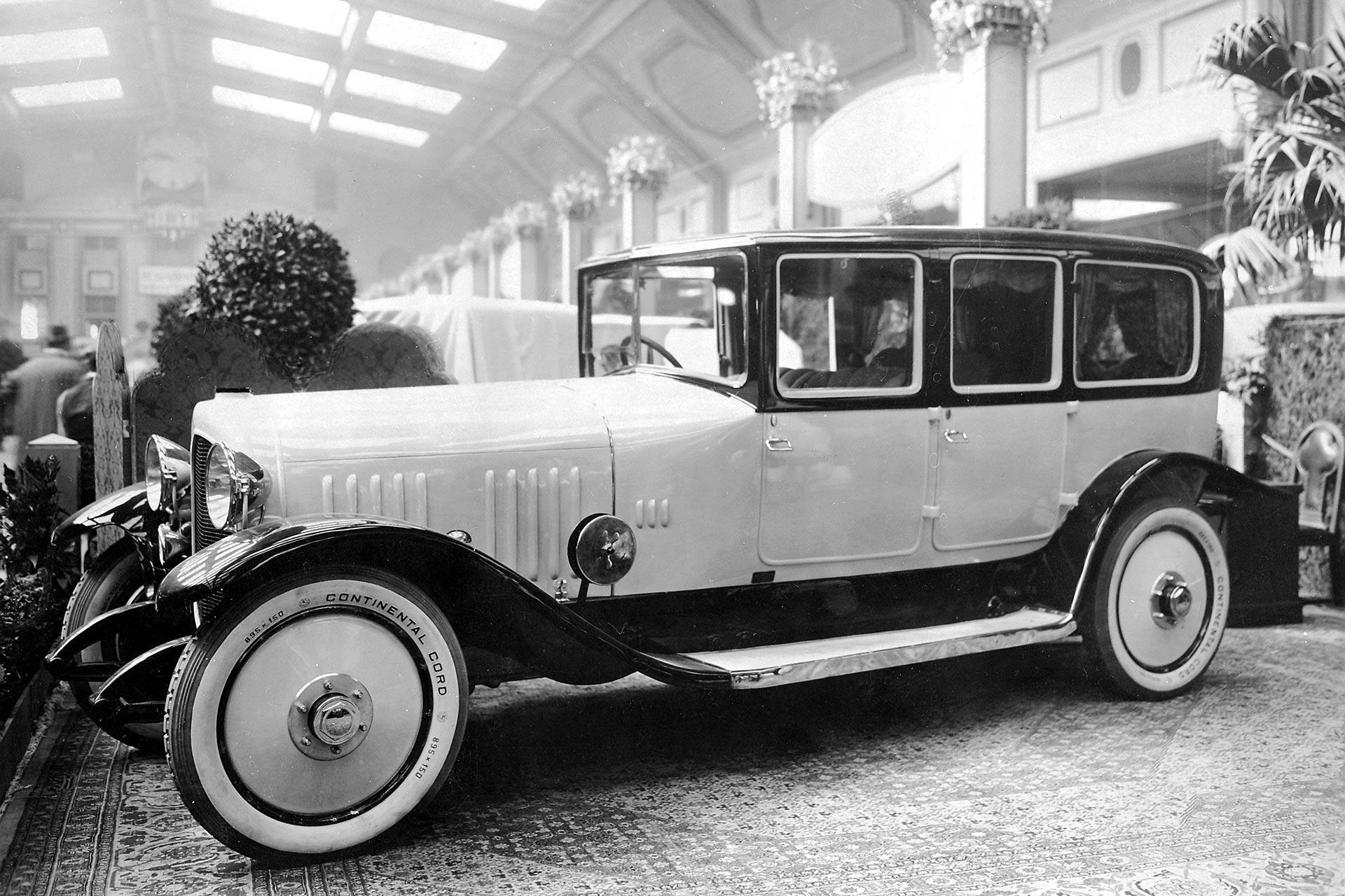 100 Jahre Maybach Automobile 1921-2021; Maybach 22/70 PS W 3
