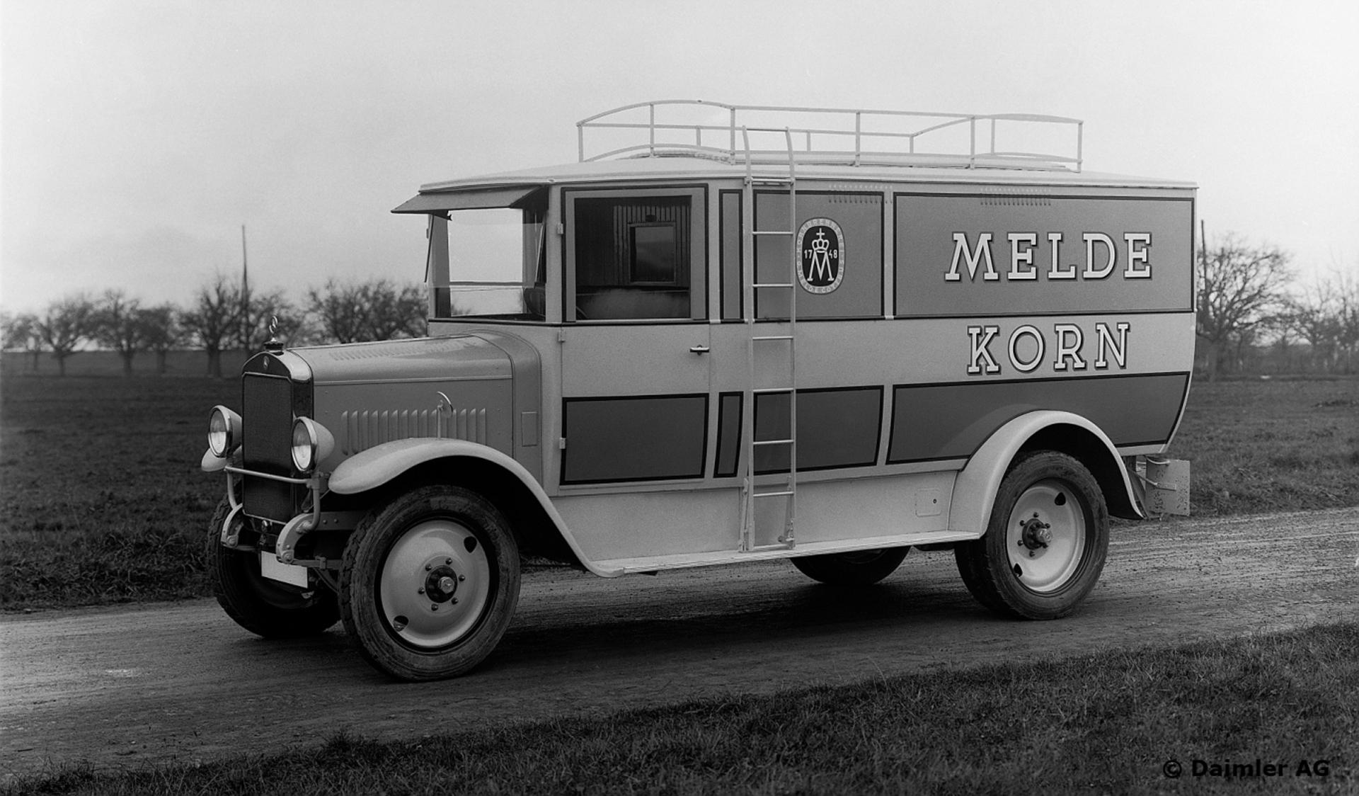 Mercedes-Benz L5 Lkw mit Motor OM5 ab 1927