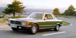Mercedes-Benz 380 SLC (C 107), 1980 bis 1981.